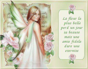 ange des fleurs